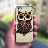 iphone 5s case,Owl Coffee,iphone 4 case,iphone 4S case,iphone 5c case,iphone 5 case,ipod 4 case,ipod 5 case,phone case,iphone case