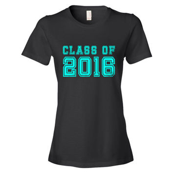 Senior Class Of 2016 Graduation T Shirt Gifts For Her or Him