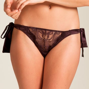 Fleur of England: Hot Chocolate Bow Tie Brief at Nancy Meyer