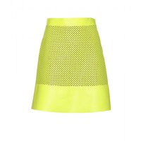 proenza schouler - perforated leather skirt