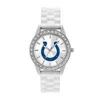 Game Time Watch - Women's Frost Series Indianapolis Colts Silicone (White)
