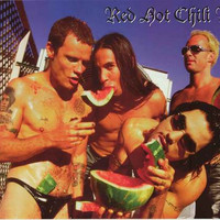 Red Hot Chili Peppers Watermelons Poster 22x34
