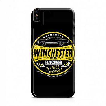 Dean Winchester Supernatural Logo Speed And Power iPhone X case