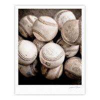 "Debbra Obertanec ""On the Mound"" Baseball Fine Art Gallery Print"