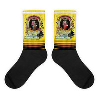 Beethoven Rooster Hen Classical Music Gift Socks