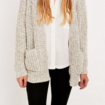 BDG Fisherman Stitch Cardigan - Urban Outfitters