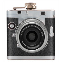 Liquor Hip Flask Stainless Steel Vintage Camera 6 oz (F-41)