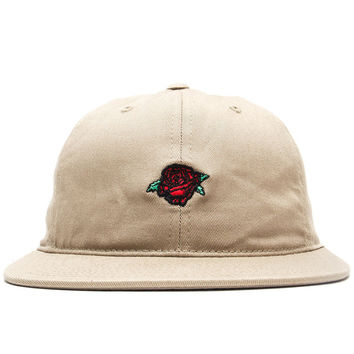 Obey - Rose Luxury Strapback Cap (Khaki)