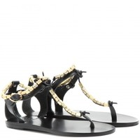 ancient greek sandals - chrysso leather sandals