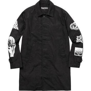 Supreme M.C. Escher Trench Coat - Black