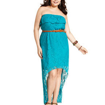 plus size dress edmonton green