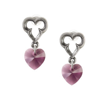 Alchemy Gothic Elizabethan Heart Earrings