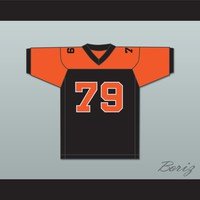 Orc Fogteeth 79 Black/Orange Football Jersey Bright