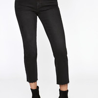 PacSun High Rise Crop Kick Jeans at PacSun.com