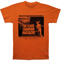 Texas Chainsaw Massacre Men's  Who Will Survive Slim Fit T-shirt Heather