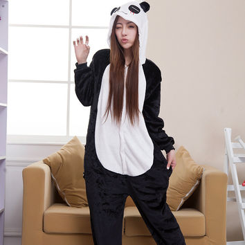 Panda Couple Home Animal Cartoons [6819622215]