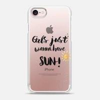 Girls Just Wanna Have Sun - Snap Case on We Heart It