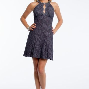 Glitter Lace Party Dress