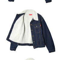 Soft Lining Denim Jacket