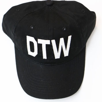 Aviate Ball Cap DTW {Black}