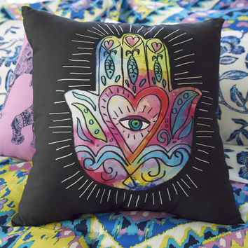 Aeropostale  Hamsa Throw Pillow