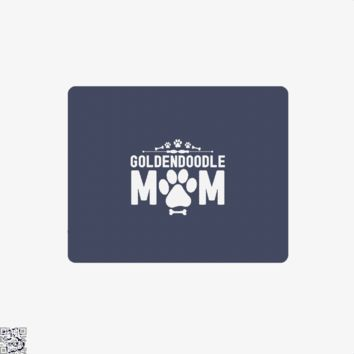 Goldendoodle Mom, Family Love Mouse Pad