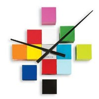 blocks clock - color