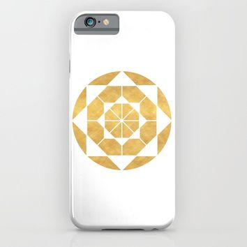 CIRCLES AND SQUARES sacred geometry iPhone & iPod Case by deificus Art