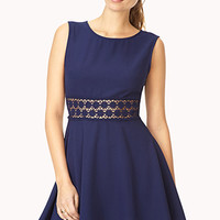 Ladylike A-Line Dress