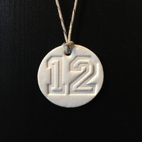 Seahawks Essential Oil Aromatherapy Diffuser Necklace