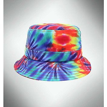 Rainbow Tie Dye Bucket Hat - Spencer's