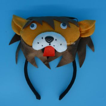 2017 NEW Man Kids Boy Girl 3D King Lion Headband Simba Animal Cosplay Costume Party Halloween Christmas