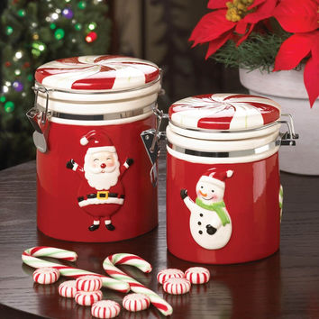 SANTA LARGE CANDY JAR