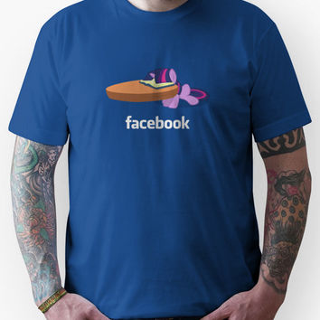 Twilight's Facebook Unisex T-Shirt