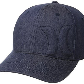 Hurley Men's Bump 4.0 Hat, Midnight Navy, Medium/Small