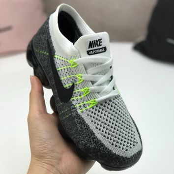 NIKE AIR VAPORMAX FLYKNIT Knitted Flying-thread Atmospheric Cushion Children's Shoes