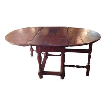 Pre-owned Spanish Gate Leg Table