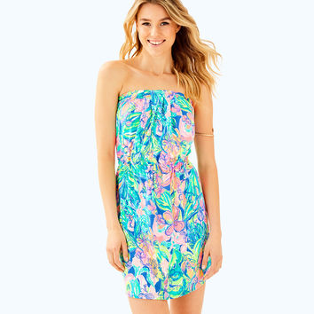 WINDSOR STRAPLESS PULL-ON DRESS