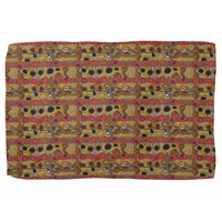 African Tribal Abstract Art Towel