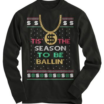 Ballin Ugly Christmas Sweater