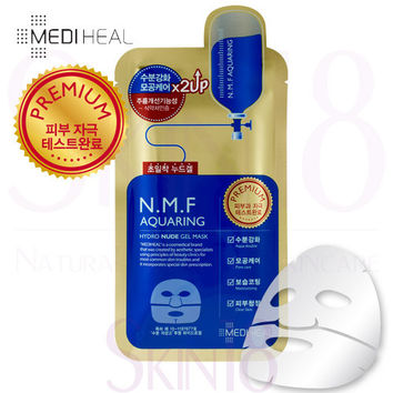 Mediheal N.M.F Aquaring Hydro Nude (x2up) Gel Mask
