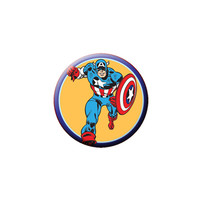 Captain America Running Button