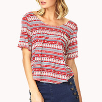 Boho Moment Tulip Top