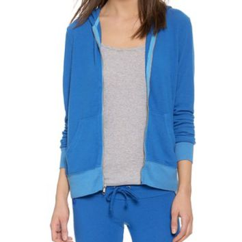 Wildfox Beach Club Zip Up Hoodie