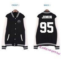 Bangtan Boys JIMIN Kpop BTS Girl Jacket New