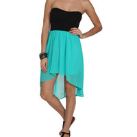Sweetheart 2Fer High-Low Dress | Shop Just Arrived at Wet Seal