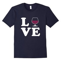 I Love Wine Shirt - T-shirt For Wine Drinkers