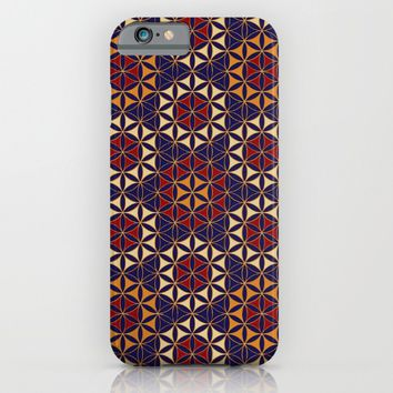 Flower of Life Pattern 27 iPhone & iPod Case by Cveti