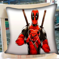 Deadpool Love Heart - Pillow Case.Pillow Cover,Retro Pillow,Throw Pillow