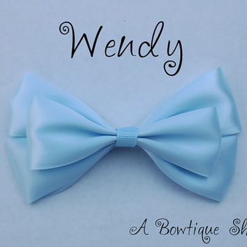 wendy hair bow